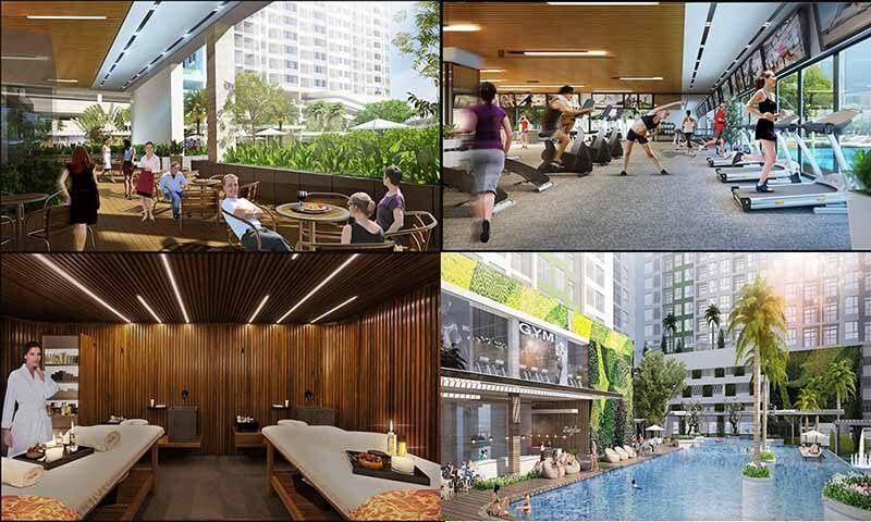 Những tiện ích giải trí nghỉ dưỡng cao cấp tại dự án Vincom shophouse Vinh